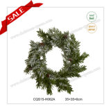 kroon van Kerstmis van de Kous van 24 LEIDENE van Kerstmis '' Christas van het Huis de Plastic