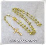 Полностью покрашенный Rosary поливы с покрашенными шариками креста/Rosary поливы (IO-cr223)