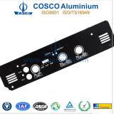 Dianteiro-painel preto de Anodizing Aluminum/Aluminium com CNC Machined