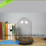 Hoher Grad-materieller Glasflaschen-Schmucksache-Staub-Glasdeckel
