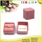 OEM Color Factory Direct Offer Velvet Ring Box (8034R34)
