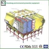 Breiter Platz der seitlichen elektrostatischen Sammler-Reinigung Maschine