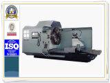 Лобовой станок CNC высокой точности для поворачивая Ex-Круга, конечной грани, продевать нитку фланца (CK61125)