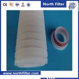 Heat-Resistance PTFEによってプリーツをつけられる水フィルター素子