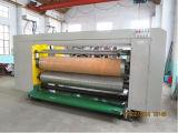 Impresora acanalada de tinta del agua del rectángulo del cartón