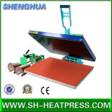 Machine chaude manuelle de transfert thermique de T-shirt de vente à vendre