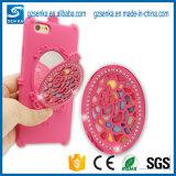 Compo a caixa do silicone da tampa traseira do espelho para o iPhone 7/7plus