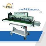 Aferidor contínuo horizontal de alta velocidade do calor com impressão quente da fita do selo