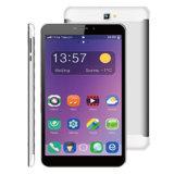 pouce Ax8 du SYSTÈME D'EXPLOITATION 8 de l'androïde 4.4 de solution de Mtk 8382 de faisceau de quarte de téléphone de la tablette 3G