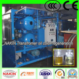 Purificateur d'huile à transformateur à vide à deux étages Modèle Zyd