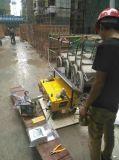 Geeft het Mortier van het Cement van het Pleister van de Muur van de Concrete Mixer van de bouw de Machine van het Hulpmiddel van de Nevel van het Gips terug