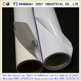 Luftblasen-freies weißes selbstklebendes Vinyl für Tintenstrahl-Pigment-Drucken