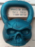 El arrabio modificó el mono para requisitos particulares Sculpted OEM Kettlebell formado cráneo con la cara
