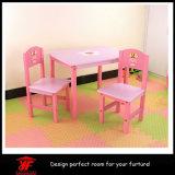 Venda por atacado da mobília dos miúdos para a tabela de jantar do jogo do estudo da venda e o jogo da cadeira