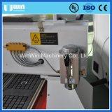 Router de vidro do CNC do Woodworking da gravura de madeira Ww1530 da pedra de confiança da fábrica