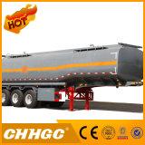 Semi-remorque liquide de camion-citerne d'essieu chinois de la marque 3