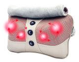 Infrarrojo eléctrico climatizada Shiatsu masajeador cuello almohada