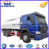 20000liters 6silos 6*4 Sinotruck Carbon Steel Petrol Oil Tanker Truck mit Private Label