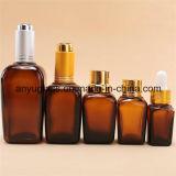 De vierkante Flessen van het Druppelbuisje van de Flessen van het Glas van de Essentiële Olie
