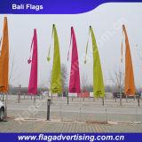 Изготовление превосходного флага Бали летания пляжа сублимации