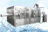プラスチックびんの飲料水満ちるびん詰めにする機械