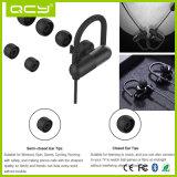 Fone de ouvido azul do dente de Qcy Qy11 em auriculares sem fio da orelha para o esporte