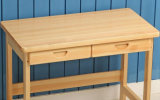 Mesa moderna da forma do quarto de estudo da tabela contínua da madeira de faia (M-X2041)