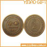 Het antieke Brons Geplateerde Muntstuk Van uitstekende kwaliteit van het Metaal van de Herinnering (yB-c-003)