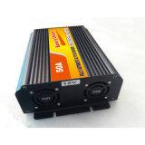 비상사태 태양 전지 충전기 12V 24V 50A (QW-50A)