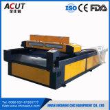 Máquina del grabador de la cortadora del laser del CO2 para el acrílico de madera