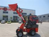 Chargeur Zl06 de roue articulé par ferme d'Everun Er06 Agricultral Chine mini avec Ce/Euro 3 et système hydrostatique