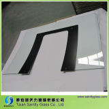 4mm/5mm/6mmbent Tempered Glass Panel para Home Appliance con Silk Screen Printing