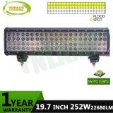 4 차를 위한 줄 20inch 크리 사람 반점 LED 표시등 막대