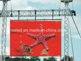P4.81 옥외 임대료 LED 스크린 광고 큰 전시