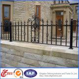 Barriera di sicurezza elegante rivestita del ferro saldato della polvere