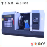 Tour horizontal de commande numérique par ordinateur de qualité pour la roue de usinage d'alliage (CK61125)