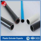 Linha de máquina de extrusão de tubos de aço e plásticos