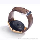 2016 forma redonda reloj inteligente con monitor de ritmo cardíaco (K88H)