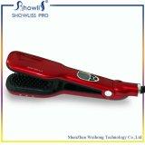 Venta caliente del nuevo diseño del peine 2016 de la enderezadora del pelo del vapor