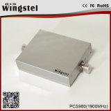 1000m2 высокий репитер сигнала увеличения PCS980 1900MHz 3G для черни