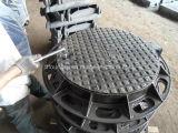 Tampa de câmara de visita Ductile resistente do ferro