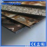 PVDF ignifugent le panneau composé en aluminium pour des décorations de mur d'Outsite