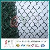 De pvc Met een laag bedekte Relatie Omheining/de dievan de Openlucht ketting Omheining van de Link van de Ketting in China wordt gemaakt