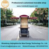 Equipamento bom requintado da forma velha quente elétrica móvel das vendas do caminhão do alimento