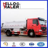 HOWO 4X2 15m3の燃料のタンク車の石油タンカーのトラック