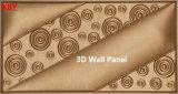 panneau de mur en cuir du panneau 400*400 d'unité centrale de panneau de mur 3D