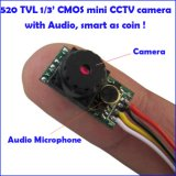 520tvl 0.008low Lux Mini Security Video Caméra CCTV Vision nocturne (22X12X6mm, NTSC / PAL)
