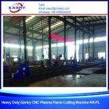 Пламя плазмы CNC листа металла Gantry алюминиевые или машина газовой резки