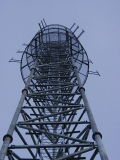 Torre Telecom de aço do ângulo da alta qualidade da exportação da produção