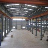 Oficina pré-fabricada do frame da construção de aço do projeto